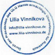 Übersetzerin für Russisch und Deutsch